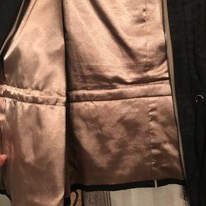 T Tahari Jackets & Coats - Black and gold jacket